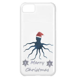 Christmas Octopus iPhone 5C Cover