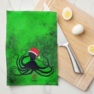 Christmas Octopus - Kitchen Towel