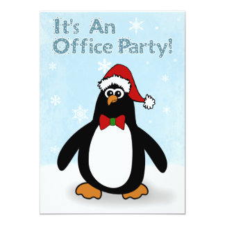 Christmas Office Party Invitations