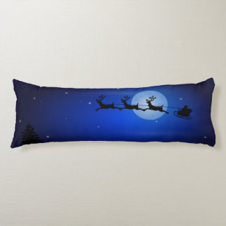 Christmas or Winter Scene 2-Sided Body Pillow