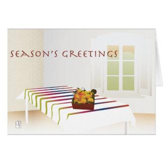 Christmas Oranges Card