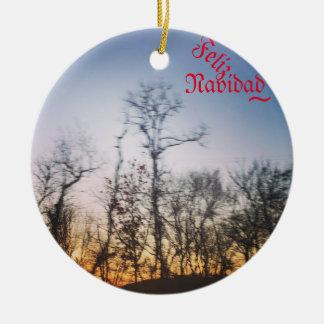 Christmas Ornament(Adorno de Navidad ) Ceramic Ornament