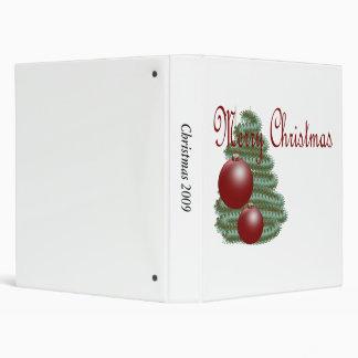CHRISTMAS ORNAMENT BINDERS