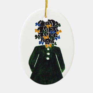 Christmas Ornament by Rose HillThe Little Colored