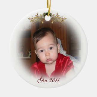 Christmas Ornament fade portrait  for photograph