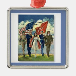 Christmas Ornament Honoring Veterans