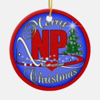 CHRISTMAS ORNAMENT - NP - NURSE PRACTITIONER
