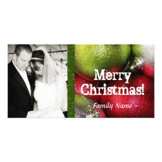 Christmas Ornament Photo Christmas Card