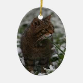 Christmas ornament - Scottish wildcat