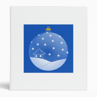 Christmas Ornament Vinyl Binder