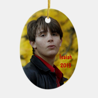 Christmas Ornament with Isaiah & Micah