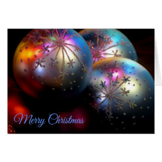 Christmas Ornaments 2011 3 Card