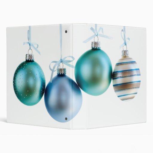 Christmas ornaments vinyl binders