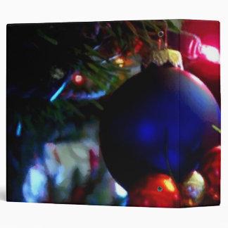 Christmas Ornaments Vinyl Binder