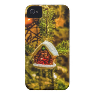 Christmas ornaments iPhone 4 case