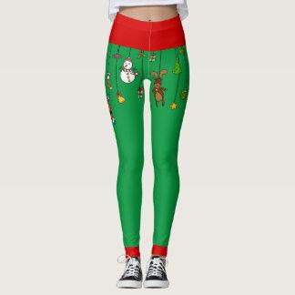 Christmas Ornaments Leggings