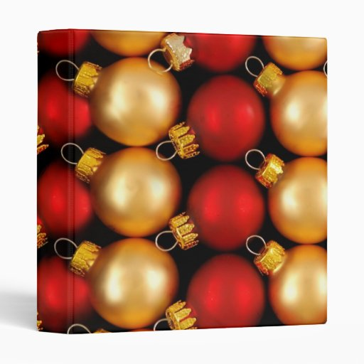 Christmas Ornaments photo album Binder