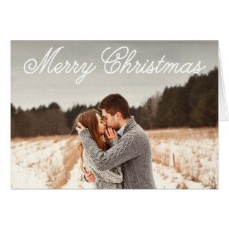 Christmas Overlay | Folded Holiday Greeting Card