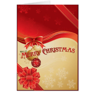 Christmas Package Card