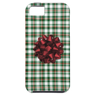 Christmas package red bow case for the iPhone 5