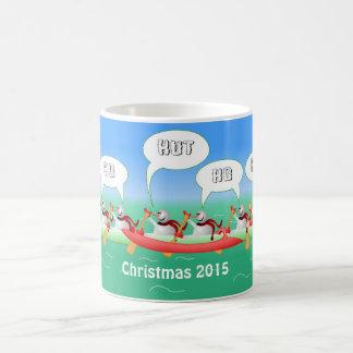 Christmas Paddle Coffee Mug