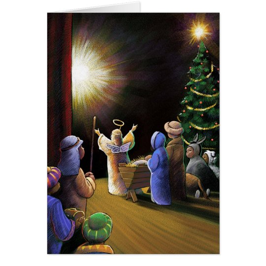 Christmas Pageant Card