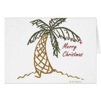 Christmas Palm Card