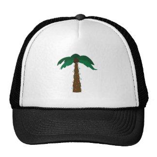 Christmas Palm Mesh Hats