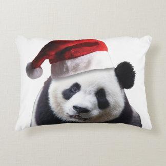 Christmas Panda Bear Decorative Pillow