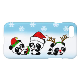 Christmas Pandas iPhone 8/7 Case