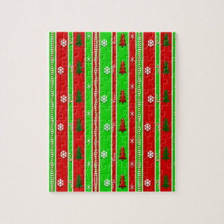 Christmas Paper Pattern Jigsaw Puzzle