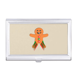 Christmas Party Gingerbread Man Card Holder