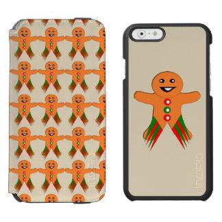 Christmas Party Gingerbread Man iPhone Case Incipio Watson™ iPhone 6 Wallet Case