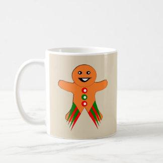 Christmas Party Gingerbread Man Mug