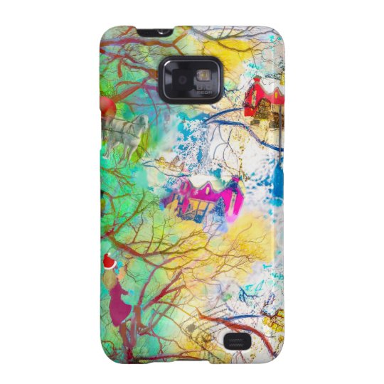 Christmas party on the tree galaxy SII covers