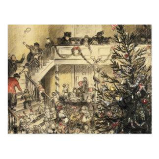 Christmas Party Postcard