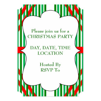 Christmas Party Time Christmas Party Invitations