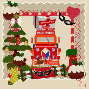 Christmas Jeepney.Philippine Jeepney Home Furnishings Accessories Zazzle Ca