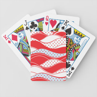 Christmas pattern 2 bicycle playing cards