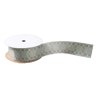 Christmas Pattern 2 Satin Ribbon
