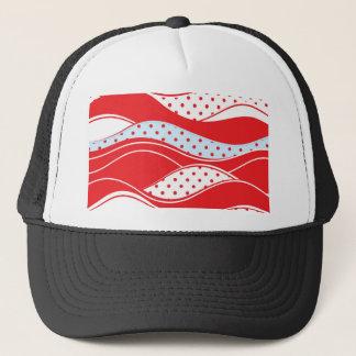 Christmas pattern 2 trucker hat