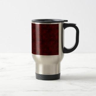 Christmas pattern 4 travel mug