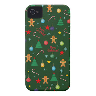 Christmas pattern Case-Mate iPhone 4 cases