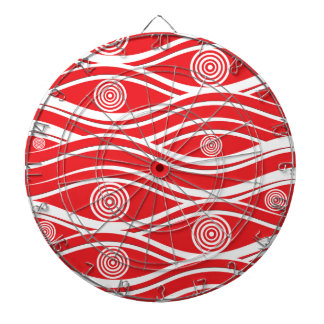 Christmas pattern dartboard