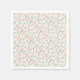 Christmas pattern disposable napkin
