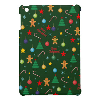 Christmas pattern iPad mini case