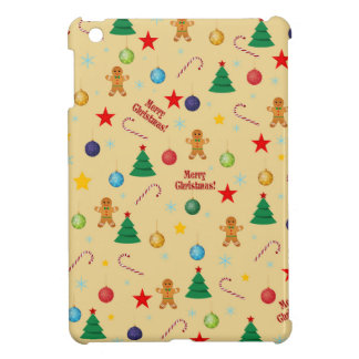 Christmas pattern iPad mini cases