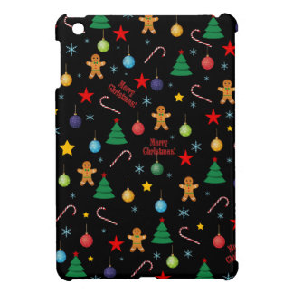 Christmas pattern iPad mini cases
