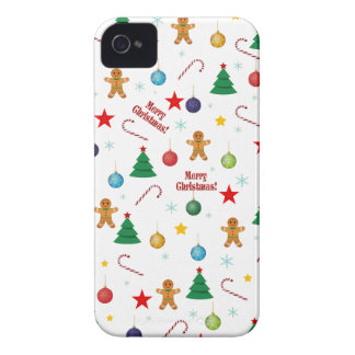 Christmas pattern iPhone 4 case