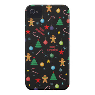 Christmas pattern iPhone 4 Case-Mate cases
